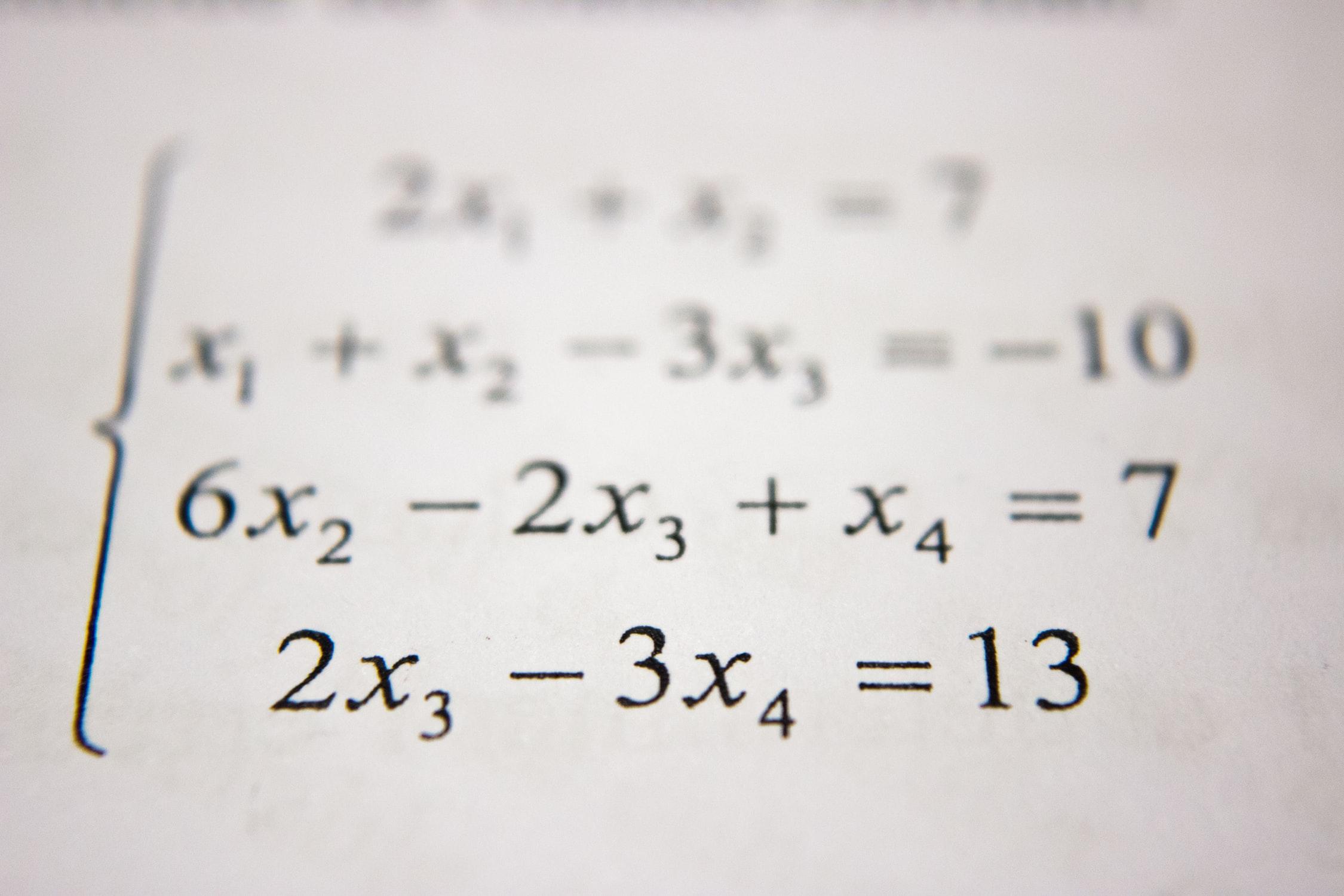 Wiskunde Bijles